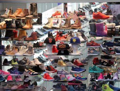 Le destockage pour de chaussures à bas prix